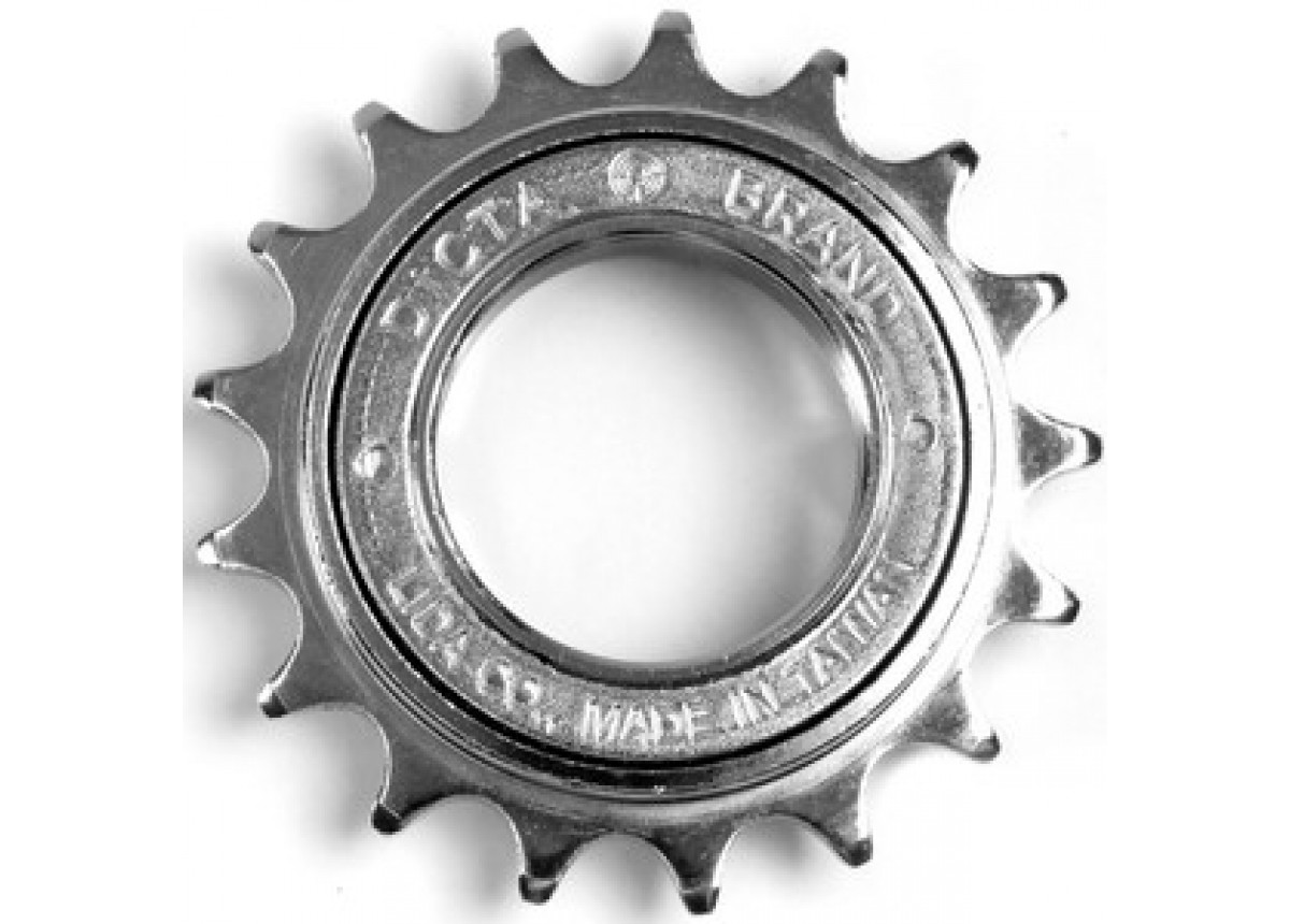 Old School BMX Chrome 16t sprocket by Dicta