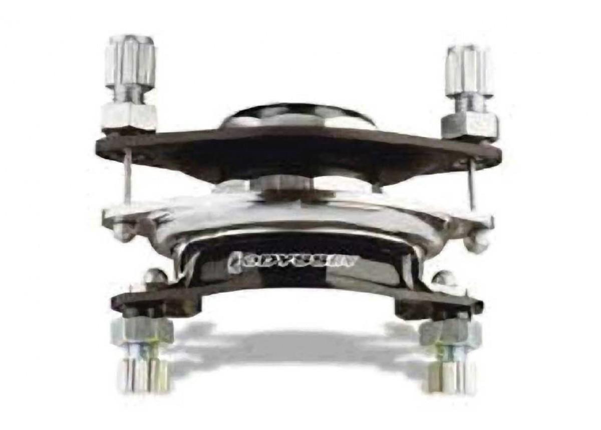 Odyssey BMX Gyro Plate G3-1 1//8 Alloy Black