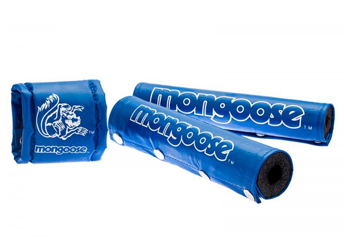 Types Of Clamps >> Old School BMX Mongoose pads - BLUE by Mongoose