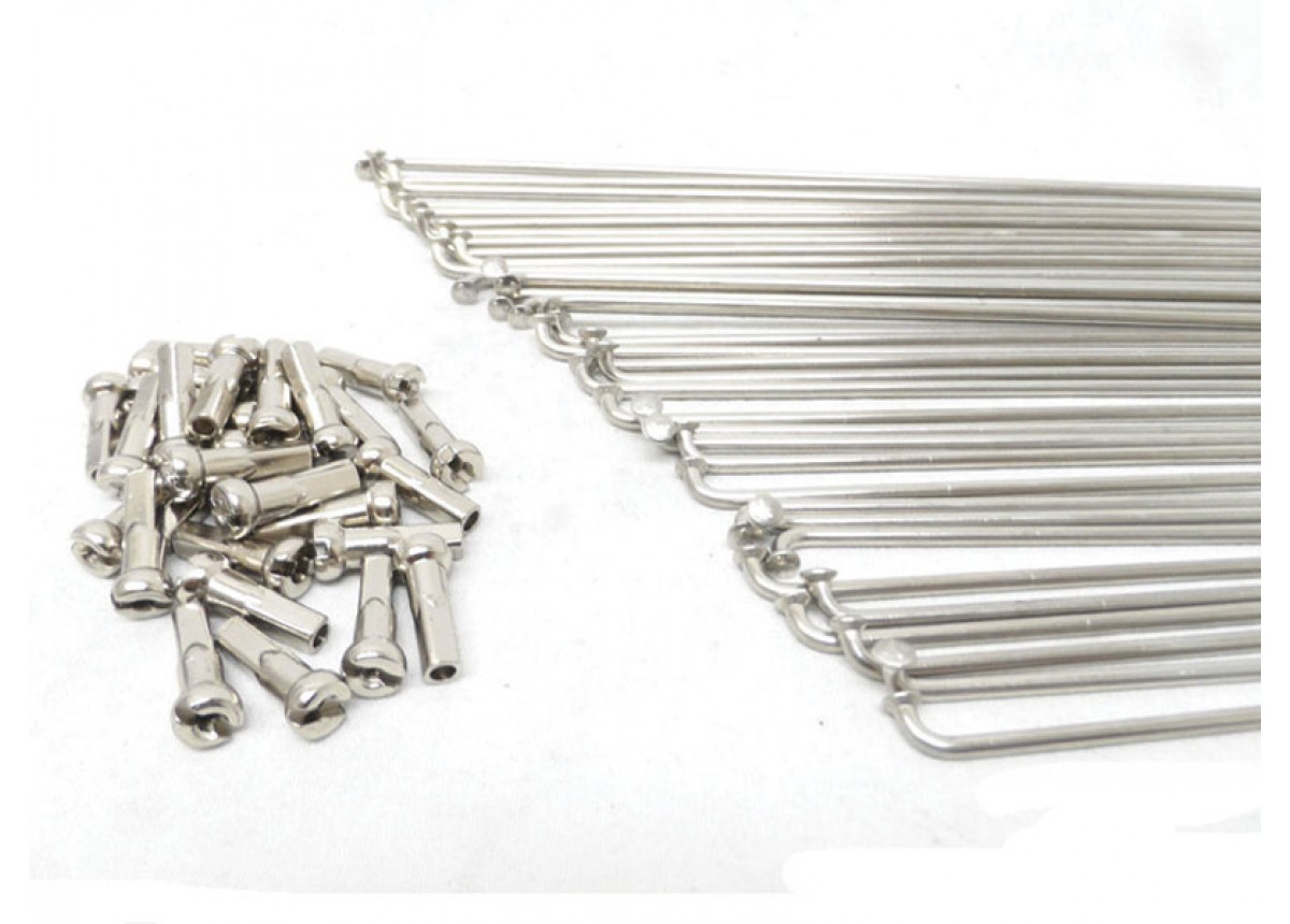 Old School BMX 14G Stainless Steel Spokes 184mm by Old School BMX