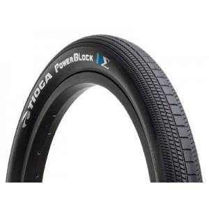 "BMX Power Block Tyre - 26"" x 2.1"" By Tioga"