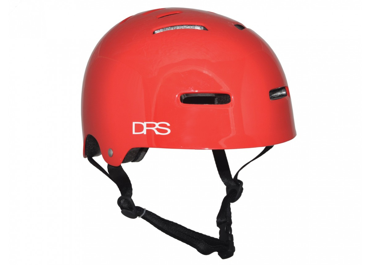 BMX DRS Helmet L/XL Gloss Red