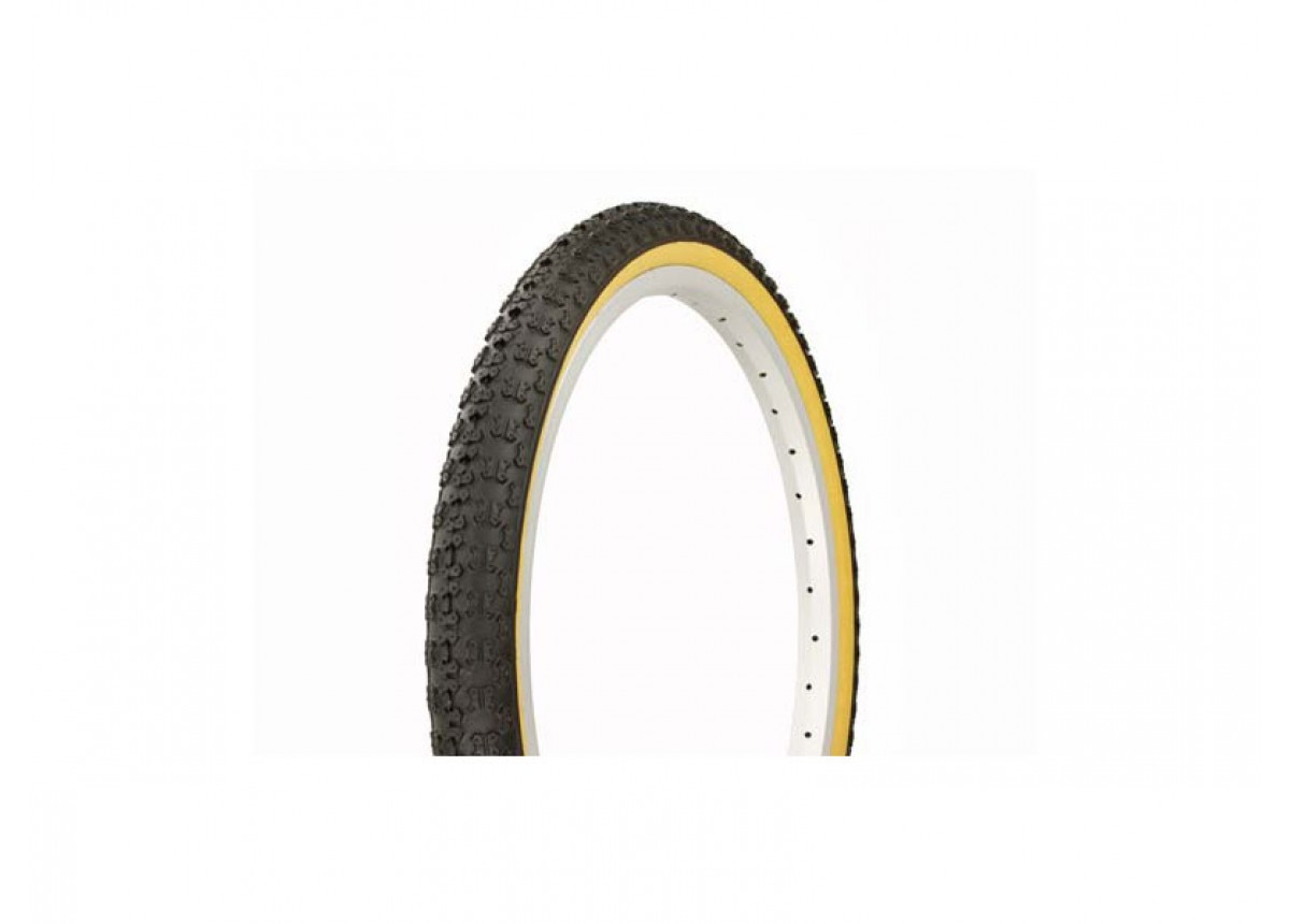 Old School BMX Bicycle Tyre 20 x 1.75 Comp III BLACK Retro SKIN WALL by CST
