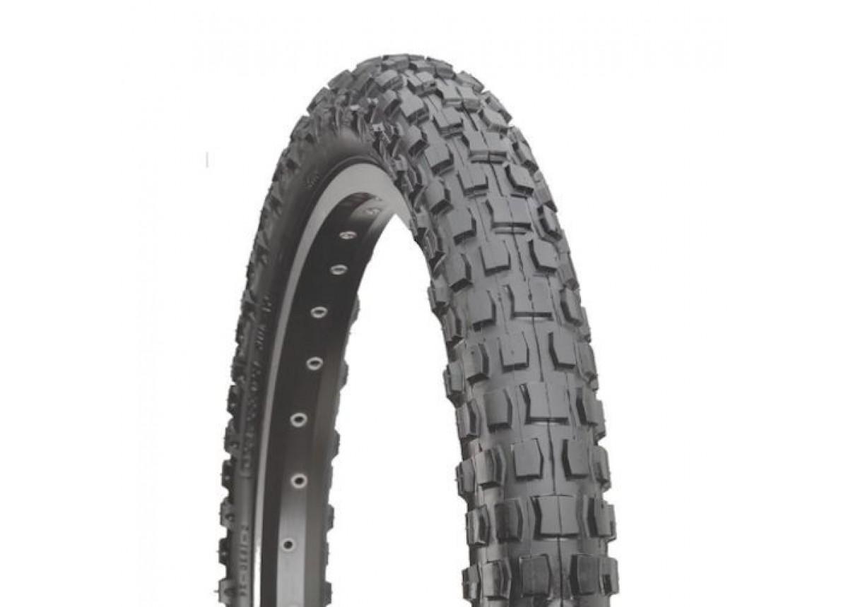 Old School BMX K44 All Black 20 x 1.75 Tyre by Kenda