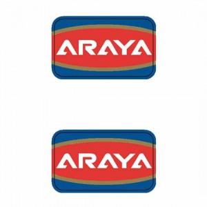 Old School BMX Araya Rim Decals X2