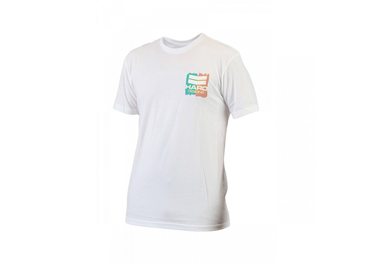 Old School BMX Paint T-shirt White XL by Haro