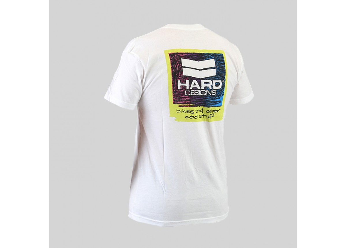 Old School BMX Cool T-shirt White M by Haro
