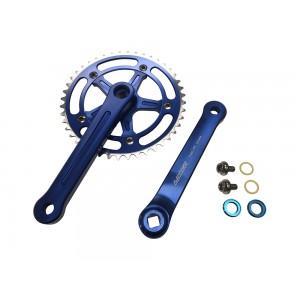 Old School BMX 3 Piece Crank Blue by Old School BMX