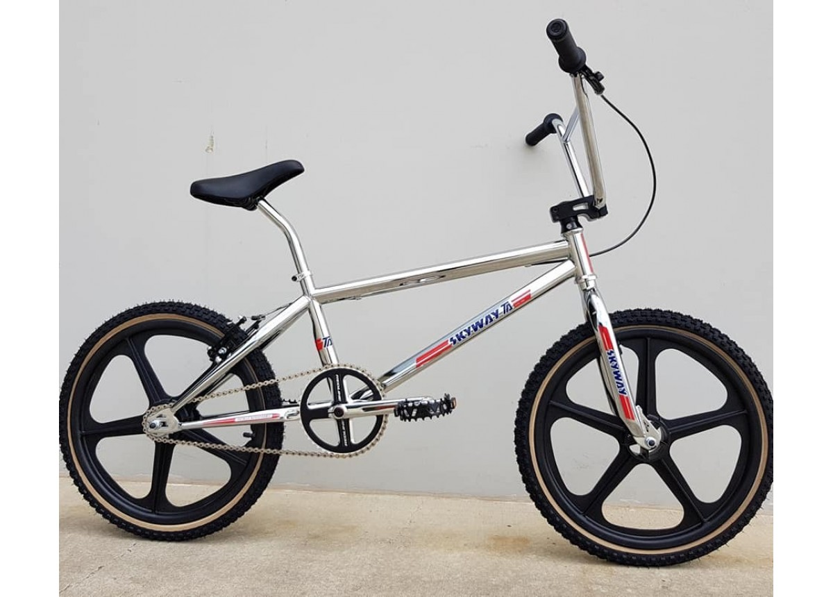 "Old School BMX Skyway 20"" Expert TA Complete Build BMX Bike with Free Kit by Skyway"