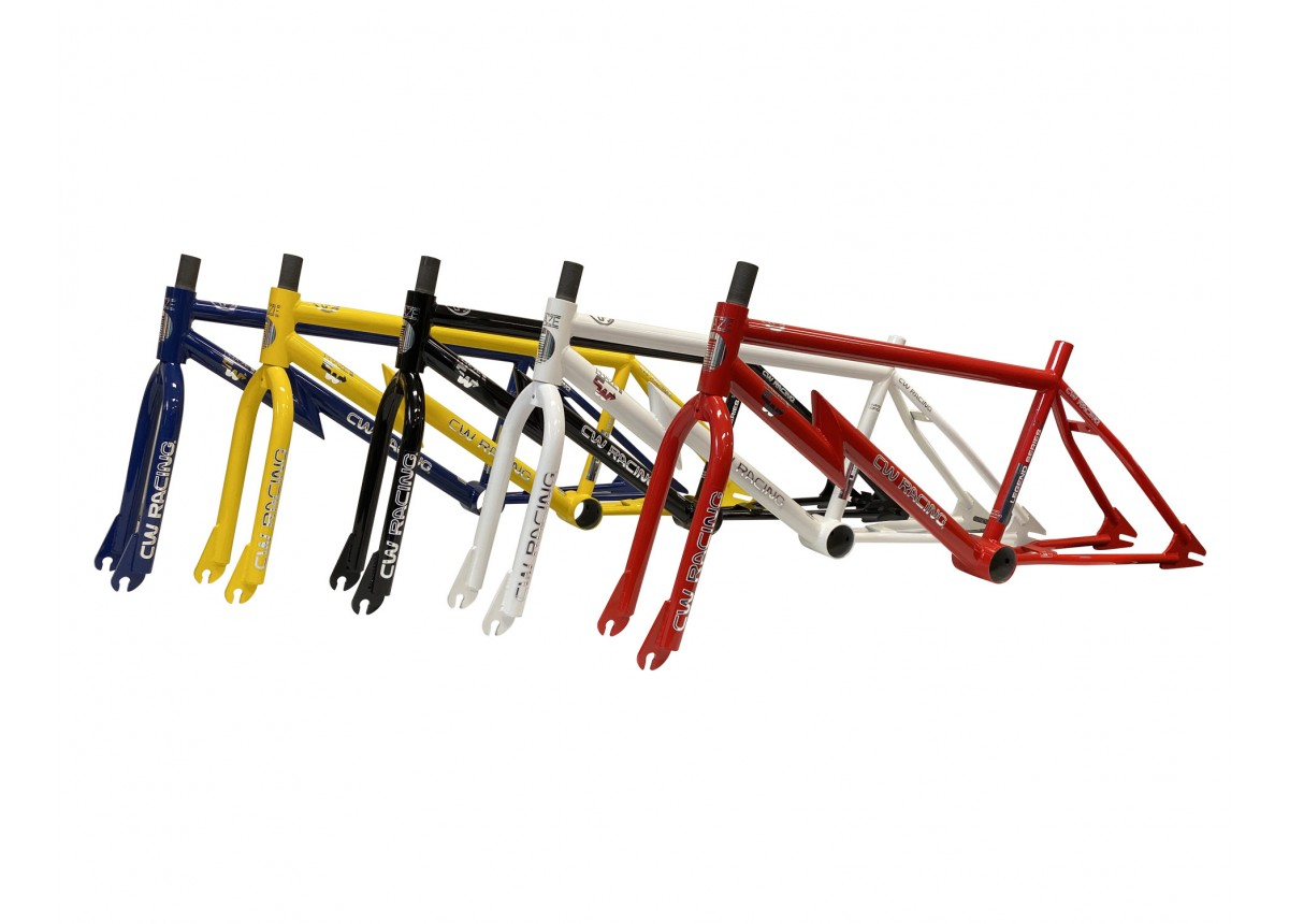 "Old School BMX CW Frame Combo ""Legend Series"" Red by CW"