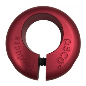Old School BMX NOS Donut Seat Clamp Red by Asco