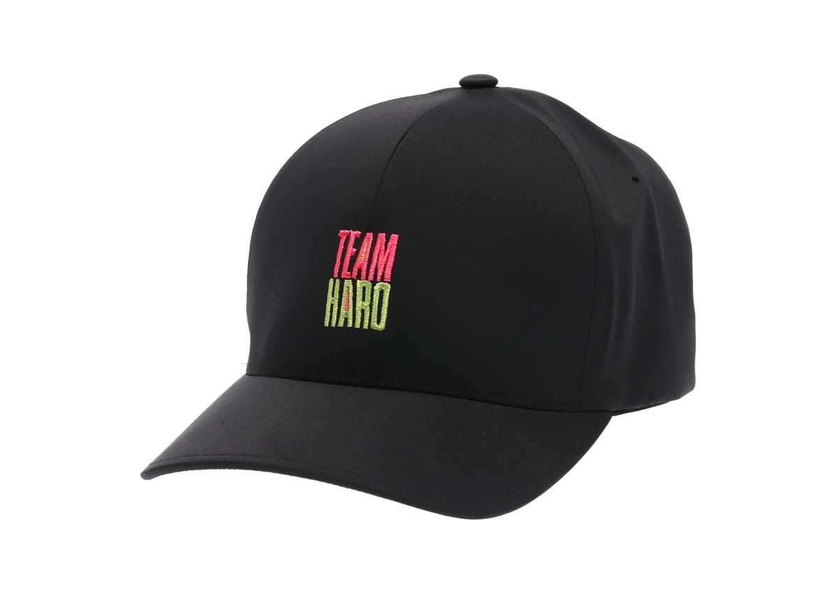 Old School BMX Haro Team Flexfit Delta Hat Black - L/XL